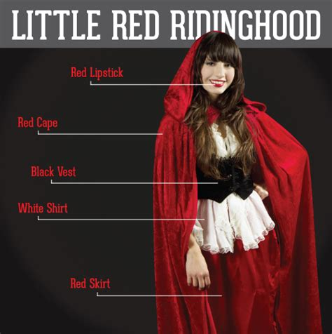 pattern white remedy cape little red riding hood red lipstick red cape black vest