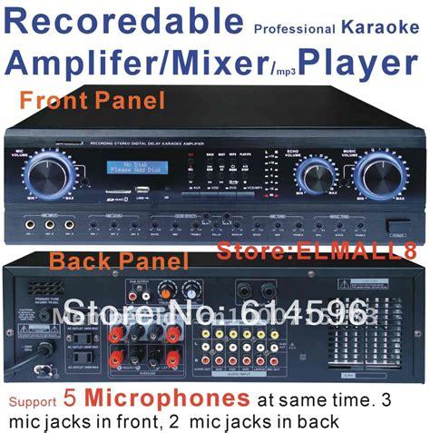 Promo Power Lifier Karoke New Murah aliexpress buy recordable professional digital karaoke lifier mixer with mp3 recorder