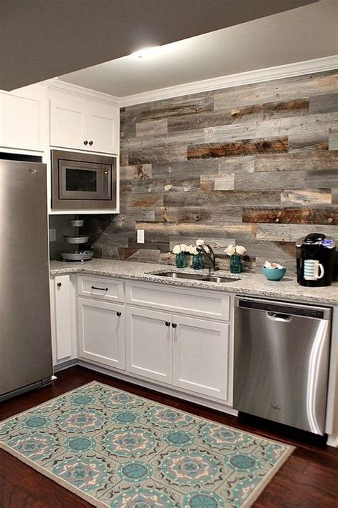 wood backsplash kitchen 30 awesome kitchen backsplash ideas for your home 2017