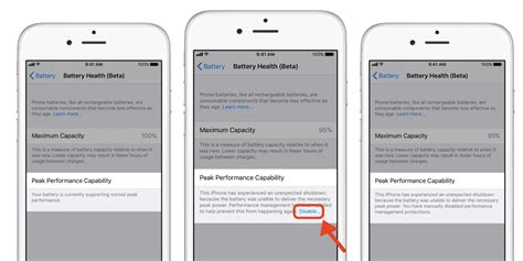 iphone battery health how to check battery health and disable iphone battery performance throttling in ios 11 3 9to5mac