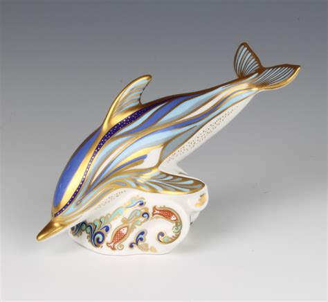 Royal Crown 3811 Swarovski Gold Original a royal crown derby imari pattern paperweight the striped dolphin with gold stopper 15cm boxed