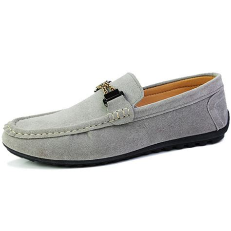 Mens Casual Suede Loafer Shoes Casual Moccasins Driving Shoes suede casual slip on flats loafer shoes soft comfortable moccasins driving shoes alex nld