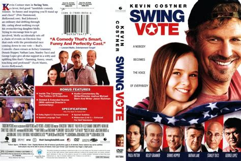 swing dvd swing vote movie dvd scanned covers swing vote r1