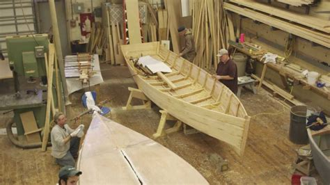 cfcc wooden boat building program youtube