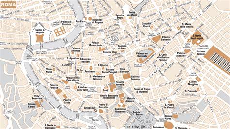 de roma callejero turistico de roma plano de roma mapa