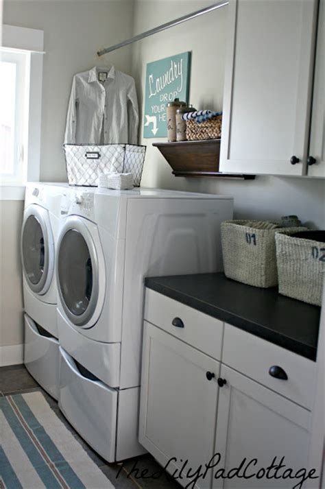 how do you say laundry room in laundry room reveal the lilypad cottage