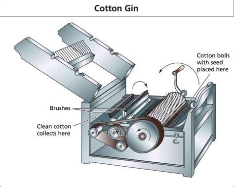 cotton gin diagram illustrations sholto ainslie