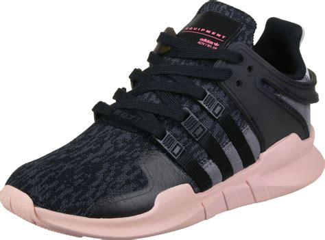 adidas equipment support adv w shoes black pink