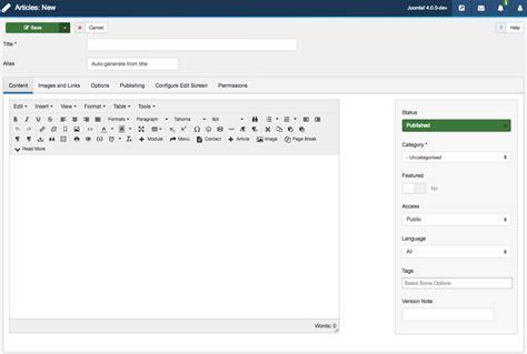theme editor joomla something you should know about joomla 4 responsive