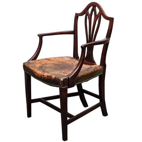 antique george iii shield back arm chair at 1stdibs