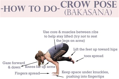 yoga crow tutorial how to do crow pose yogabycandace