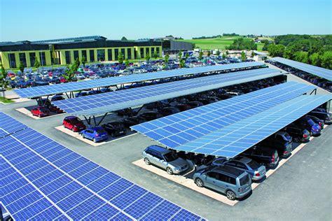 Car Power Port Schletter S Park Sol Modular Solar Carport For Electric