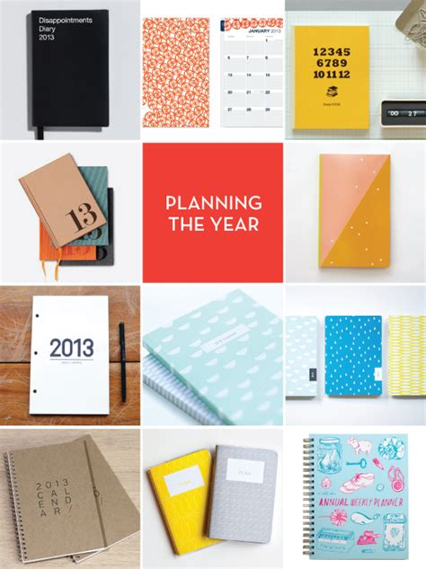 design planner planning the new year design crush