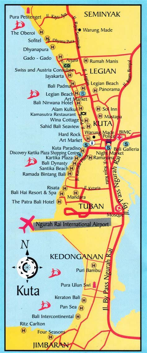 rabasta resort kuta map amazing indonesia kuta seminyak legian maps