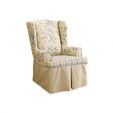 Discount Chair Slipcovers Wing Chair Slipcovers September 2011 If Finding The Best