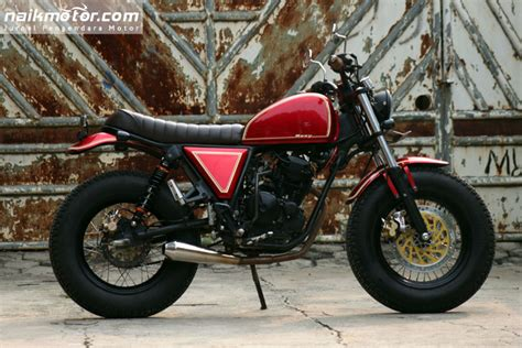 Modifikasi Yamaha Scorpio Jap Style Klassik Tapi Elegant | foto modifikasi motor yamaha scorpio holidays oo