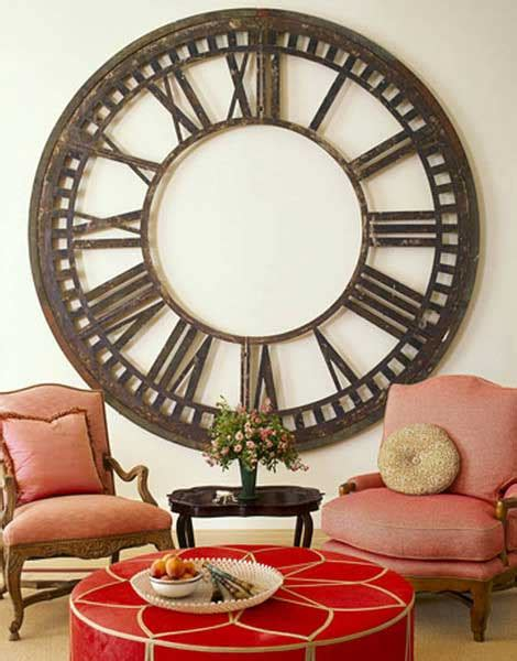 cool vintage clocks for living room decorating