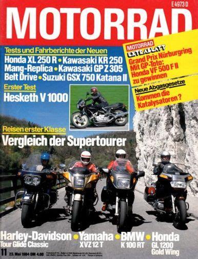 Motorrad 11 Kw Gebraucht by Motorradzeitungen Testberichte Gebrauchte