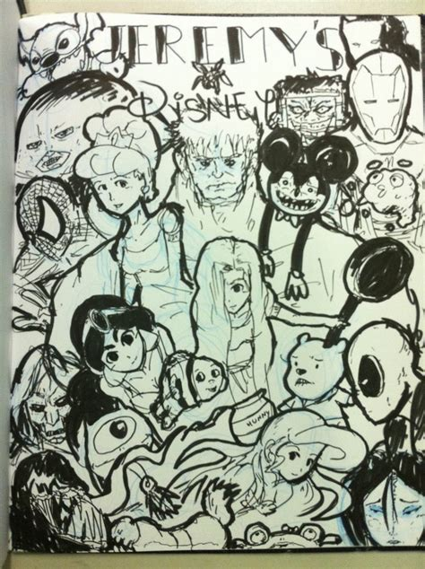 doodle on a picture disney doodle by mendoza on deviantart