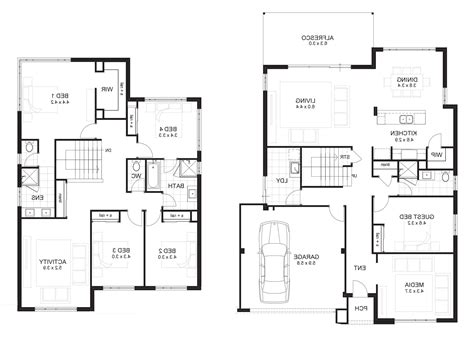 5 bedroom house plans with 2 master suites unique master