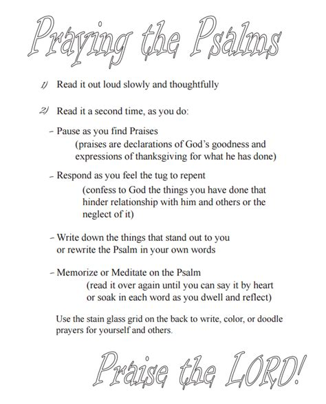 praying the psalms a g s journey the psalter trail books unconventionally steadfast praying the psalms