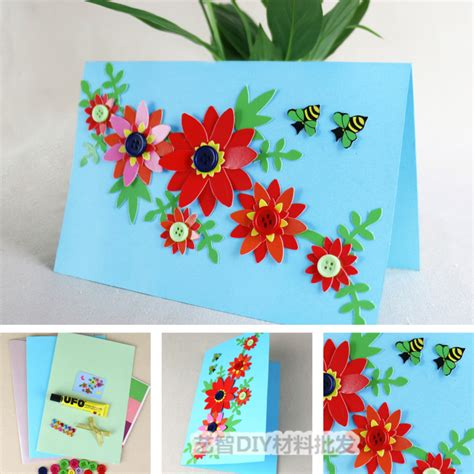 Handmade Greeting Card Kits - summer handmade greeting card kit diy card