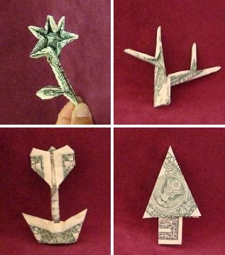 Origami Dollar Sign - a history of origami montroll a history of