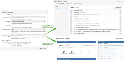 jira templates gaia for jira project template manager atlassian