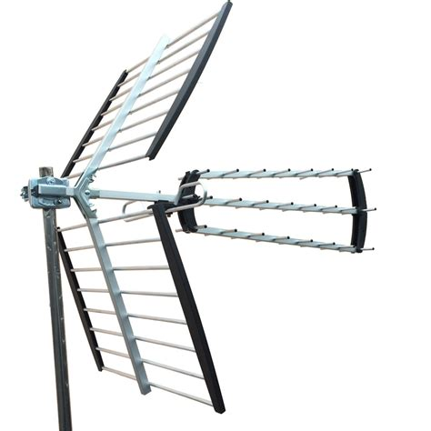 mile hdtv outdoor amplified hd tv antenna digital uhf
