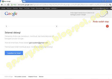 membuat akun email dari google cara membuat akun alamat email google gmail gpsc system