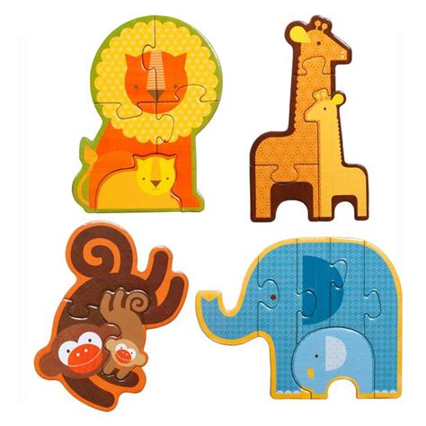 Baby Animal Puzzle baby safari animals puzzle for toddlers preschool