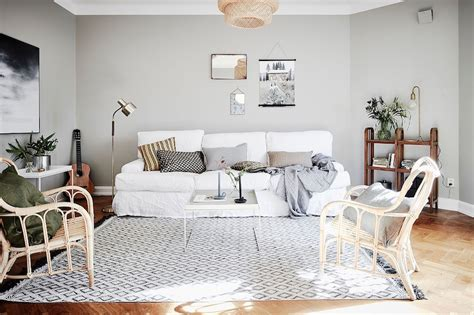 scandinavian inspired bedroom scandinavian style and bold wallpaper in bedroom