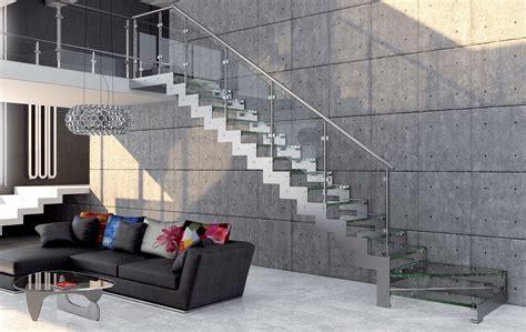 normativa scale interne ᐅ rexal glass scale interne con ringhiera in vetro un