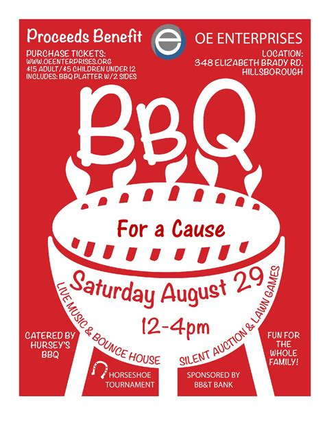 bbq fundraiser flyer template bbq fundraiser tickets www pixshark images galleries with a bite