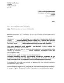 Lettre De Reclamation Free Gratuite Exemple Gratuit De Lettre R 233 Clamation Non Versement Une Allocation Par Caf