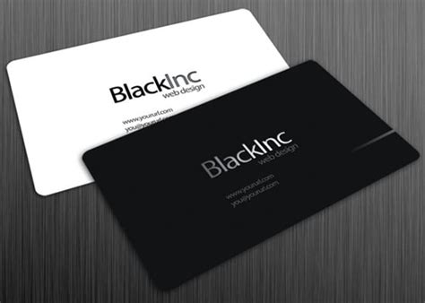 free sle business cards templates 100 free business card templates designrfix