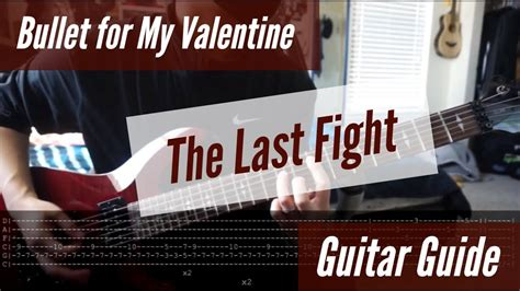bullet for my last to bullet for my the last fight guitar guide