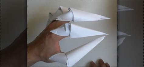 How To Make Paper Freddy Krueger Claws - how to fold origami freddy krueger claws for