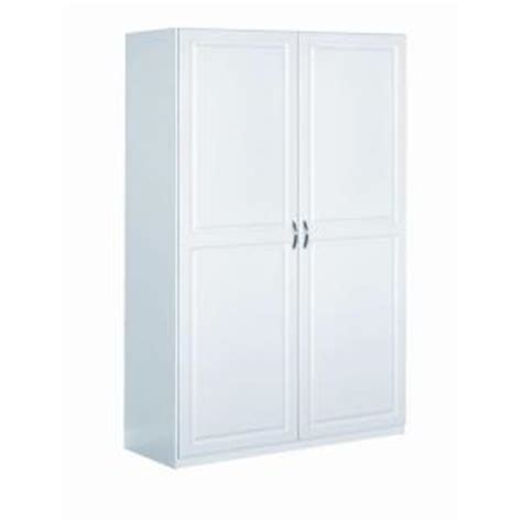 Closetmaid Cabinets Home Depot closetmaid dimensions 48 in cabinet in white 13000 the home depot