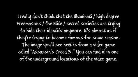 assassins creed illuminati assassin s creed 3 illuminati symbolism