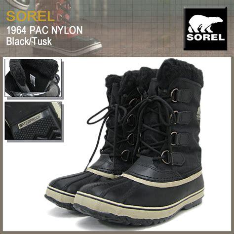 Limited Edition Boot R 011 楽天市場 ソレル sorel ブーツ メンズ 男性用 1964 パック ナイロン black tusk sorel
