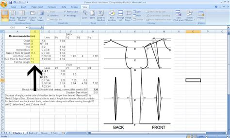 number pattern calc grosgrain free pattern drafting calculator for your
