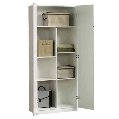 storage cabinet soft white finish