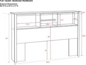 Free Headboard Plans by Free Bookcase Headboard Plans Diy Projects Pinterest