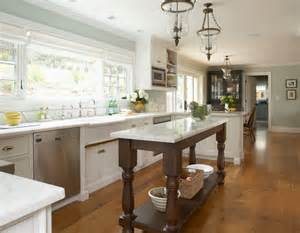 Kitchen Islands Houzz Kitchen Ideas Traditional Kitchen San Francisco By Mahoney Architects Interiors