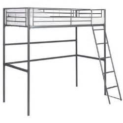 lit mezzanine 90x190 cm gris new line vente de lit