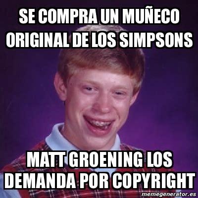 Meme Generator Copyright - meme bad luck brian se compra un mu 241 eco original de los
