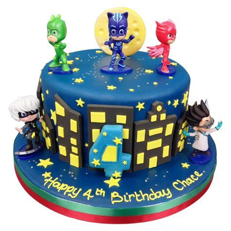 PJ Masks Cake   Birthday Cakes   The Cake Store