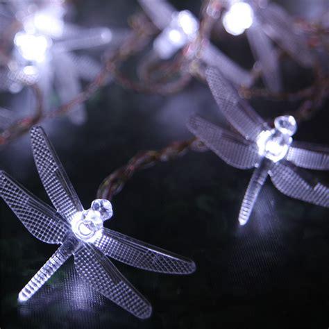 dragonfly solar string lights solar dragonfly led string light lighting