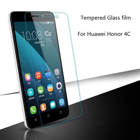 Tempered Glass Anti Gores Kaca Huawei Honor 4c 4 beli murah 4 lots from china 4